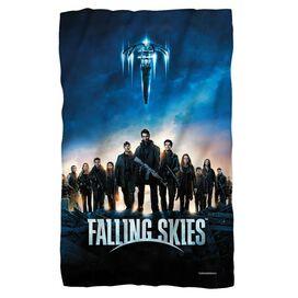 Falling Skies Poster Fleece Blanket