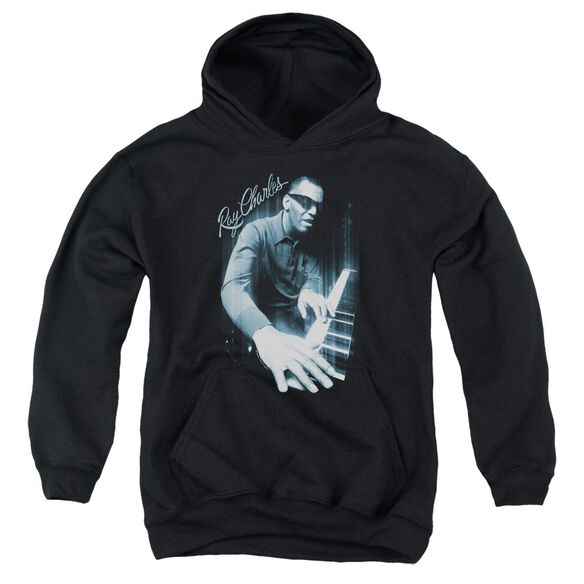Ray Charles Blues Piano Youth Pull Over Hoodie