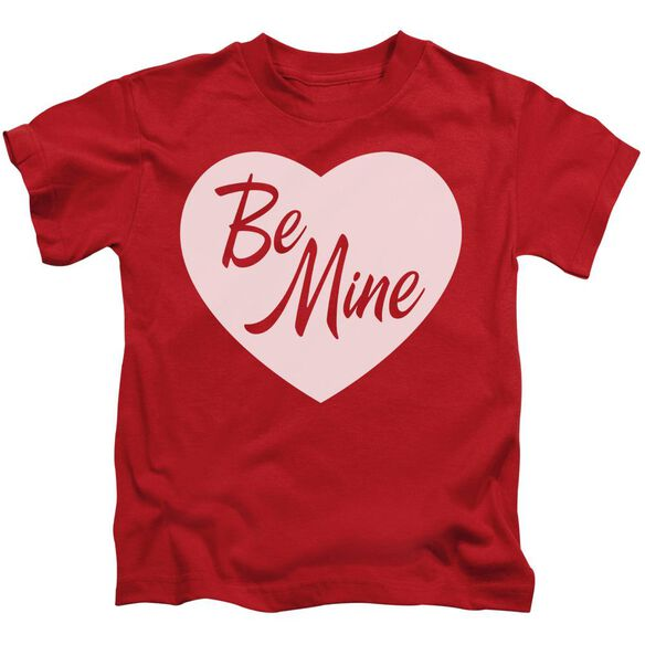 Be Mine Short Sleeve Juvenile Red Md T-Shirt