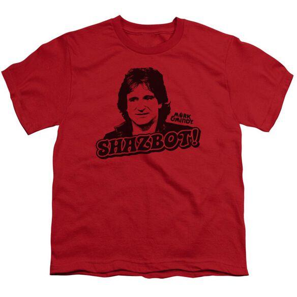 Mork & Mindy Shazbot Short Sleeve Youth T-Shirt