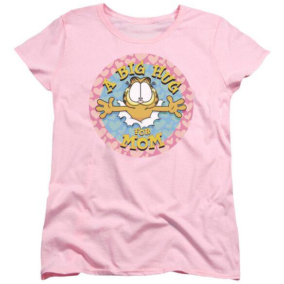Garfield A Big Hug For Mom Short Sleeve Women's Tee T-Shirt