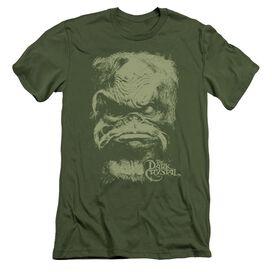 Dark Crystal Aughra Short Sleeve Adult Military T-Shirt