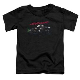 Gmc Syclone Short Sleeve Toddler Tee Black T-Shirt