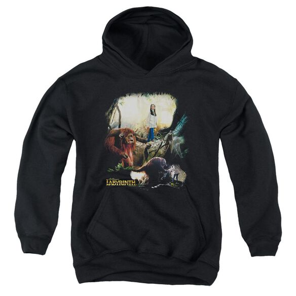 Labyrinth Sarah & Ludo Youth Pull Over Hoodie