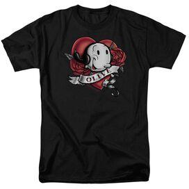 Popeye Olive Tattoo Short Sleeve Adult T-Shirt