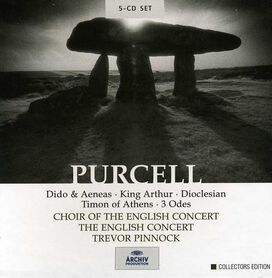 Trevor Pinnock - Purcell: Dido & Aeneas; King Arthur; Dioclesian; Timon of Athens; 3 Odes [Box Set]