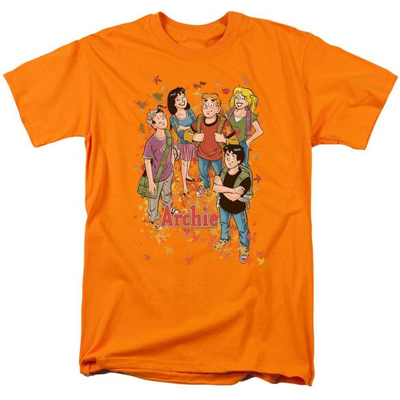 Archie Comics Colorful Short Sleeve Adult Orange T-Shirt