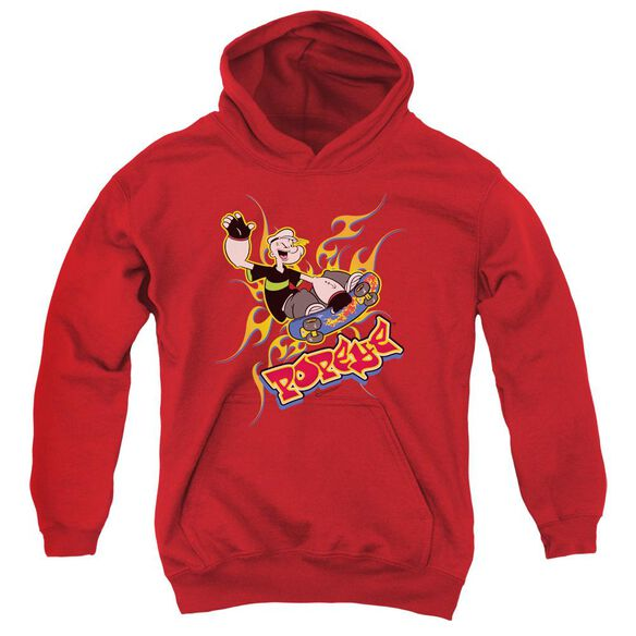 Popeye Get Air Youth Pull Over Hoodie