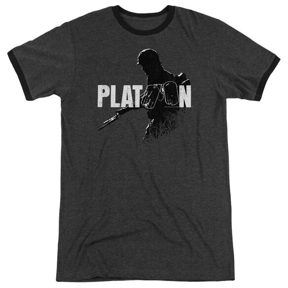 Platoon Shadow Of War Adult Heather Ringer Charcoal
