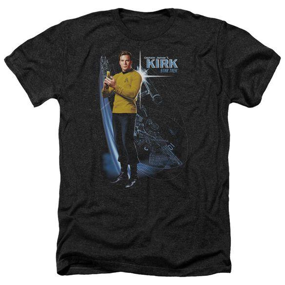 Star Trek Galactic Kirk Adult Heather