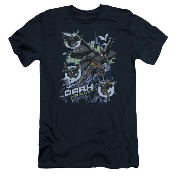 Dark Knight Attack From All Sides Short Sleeve Adult T-Shirt
