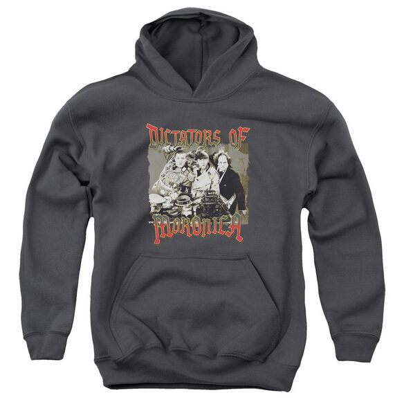 Three Stooges Moronica Youth Pull Over Hoodie