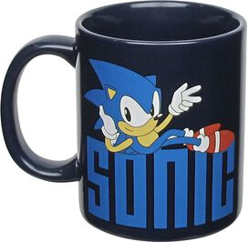 Sonic the Hedgehog On Logo Mug