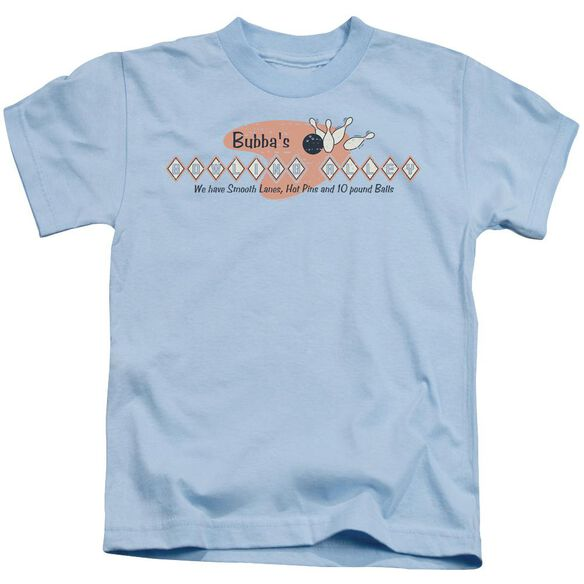 BUBBAS BOWLING ALLEY - JUVENILE 18/1 - LIGHT BLUE - T-Shirt