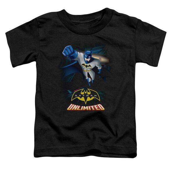 Batman Unlimited Descent Short Sleeve Toddler Tee Black T-Shirt