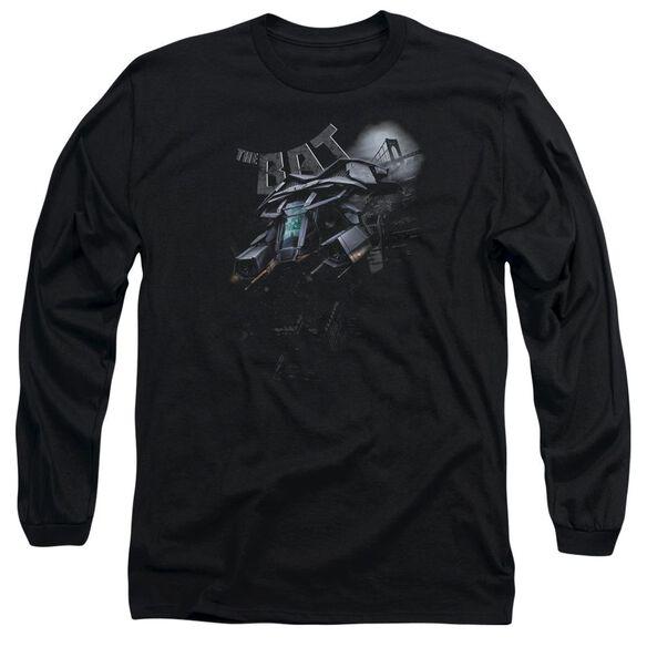Dark Knight Rises Patrol The Skies Long Sleeve Adult T-Shirt