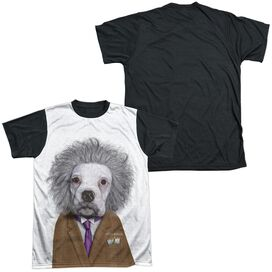 Pets Rock Brain Short Sleeve Adult Front Black Back T-Shirt