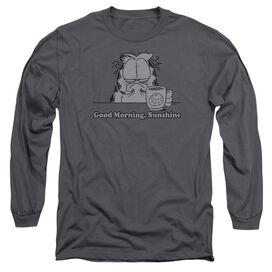 Garfield Good Morning Sunshine Long Sleeve Adult T-Shirt