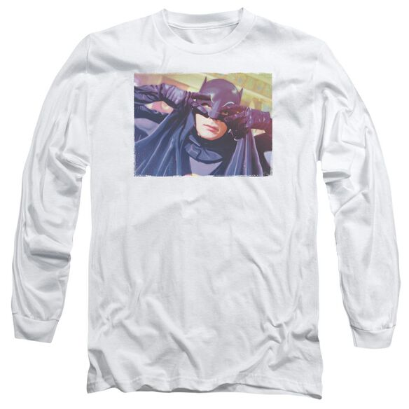 Batman Classic Tv Smooth Groove Long Sleeve Adult T-Shirt