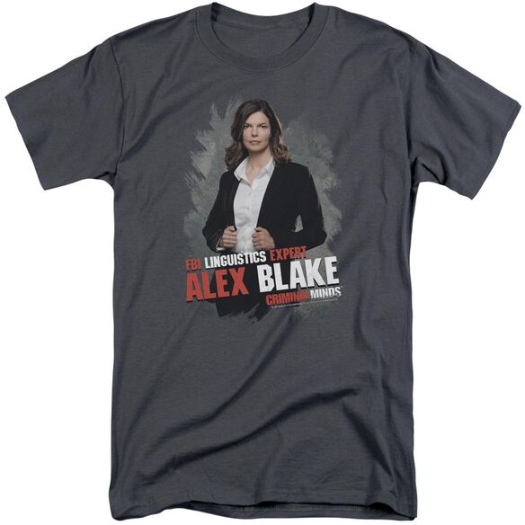 Criminal Minds Alex Blake Short Sleeve Adult Tall T-Shirt