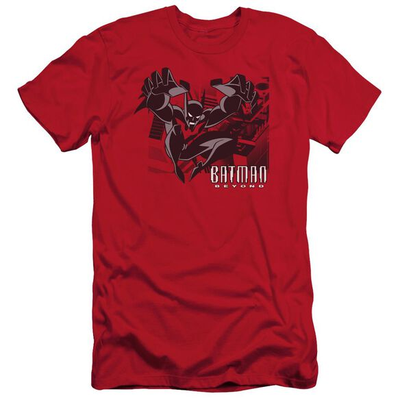 Batman Beyond City Jump Short Sleeve Adult T-Shirt