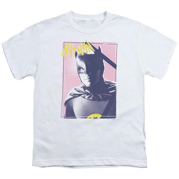 Batman Classic Tv Wayne 80's Short Sleeve Youth T-Shirt