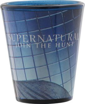 Supernatural Join the Hunt Sam Shot Glass