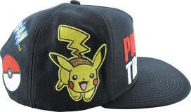 Pokemon Trainer Embroidered Snapback Hat