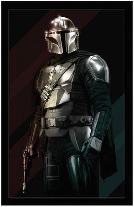 Star Wars - The Mandalorian Portrait Wall Art 11x17