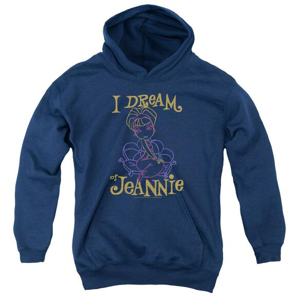 I Dream Of Jeannie Jeannie Paint Youth Pull Over Hoodie