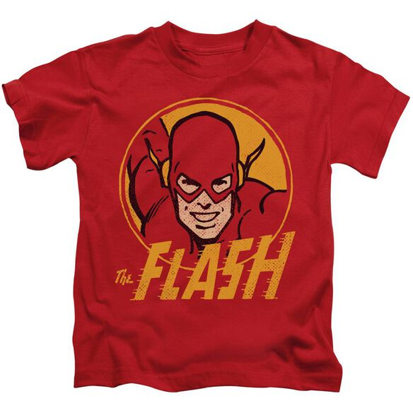 Dc Flash Flash Circle Short Sleeve Juvenile Red T-Shirt