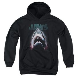 Jaws Terror In The Deep Youth Pull Over Hoodie