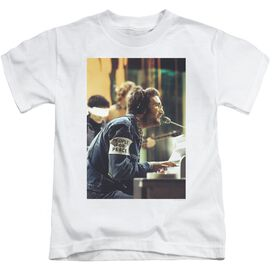 John Lennon Peace Short Sleeve Juvenile White T-Shirt
