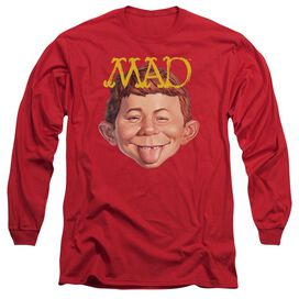 Mad Absolutely Mad Long Sleeve Adult T-Shirt