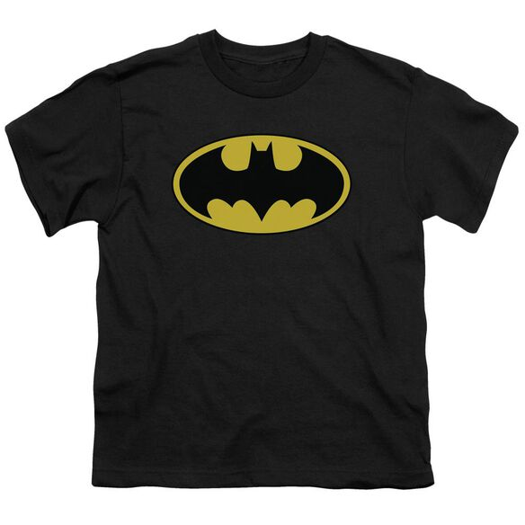 Batman Classic Logo Short Sleeve Youth T-Shirt