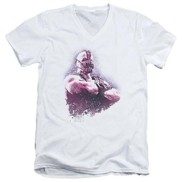 Dark Knight Rises Spray Bane Short Sleeve Adult V Neck T-Shirt
