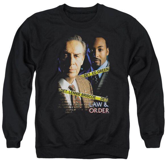 Law And Order Briscoeandgreen Adult Crewneck Sweatshirt