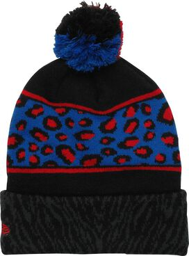 Spiderman Animal Print Pom Beanie