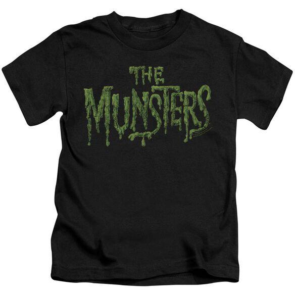 The Munsters Distress Logo Short Sleeve Juvenile T-Shirt