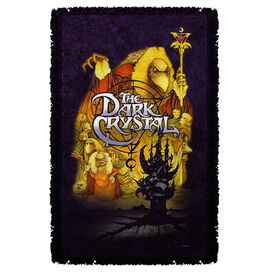 Dark Crystal Poster Woven Throw