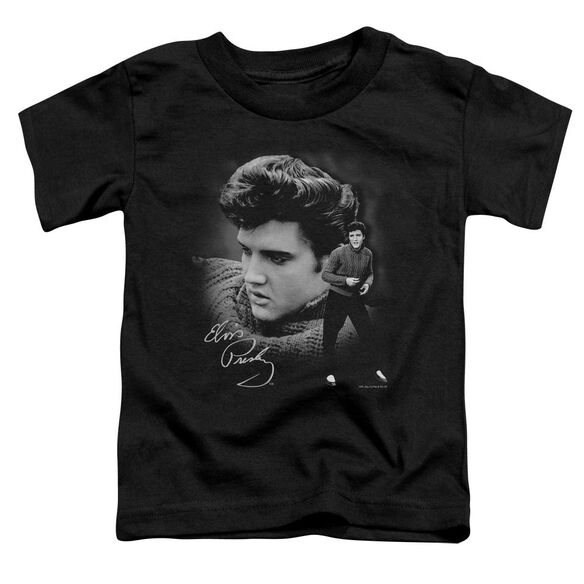 Elvis Sweater Short Sleeve Toddler Tee Black Md T-Shirt