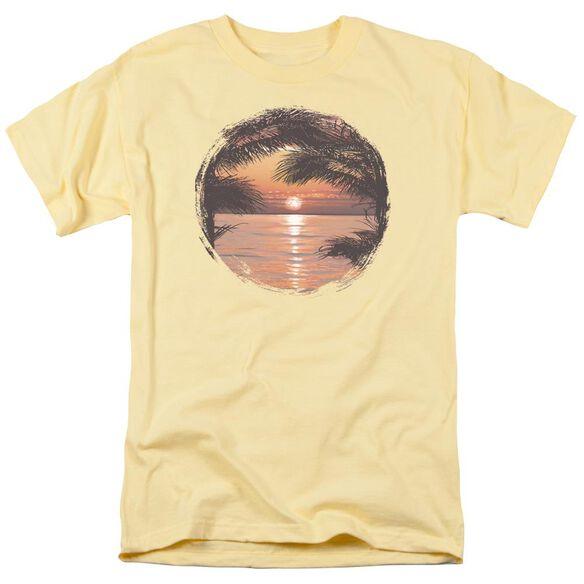 Sunset Short Sleeve Adult Banana T-Shirt