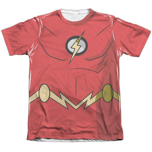 Batman Unlimited Flash Uniform Adult Poly Cotton Short Sleeve Tee T-Shirt
