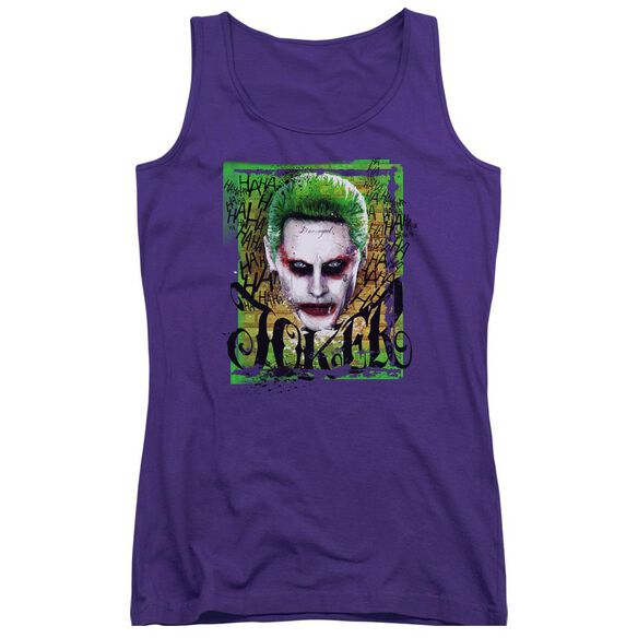 Suicide Squad Empire Joker Juniors Tank Top