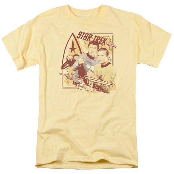 Star Trek Shoot That Thing Short Sleeve Adult Banana T-Shirt
