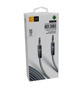 Case Logic Braided Aux Cable [10 ft]