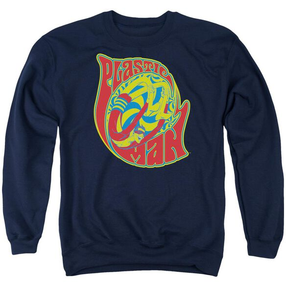 Dc How I Roll Adult Crewneck Sweatshirt