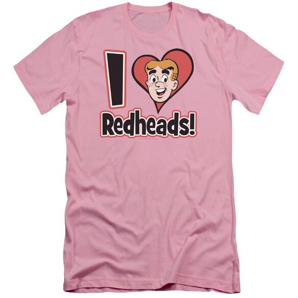 Archie Comics I Love Redheads Short Sleeve Adult T-Shirt