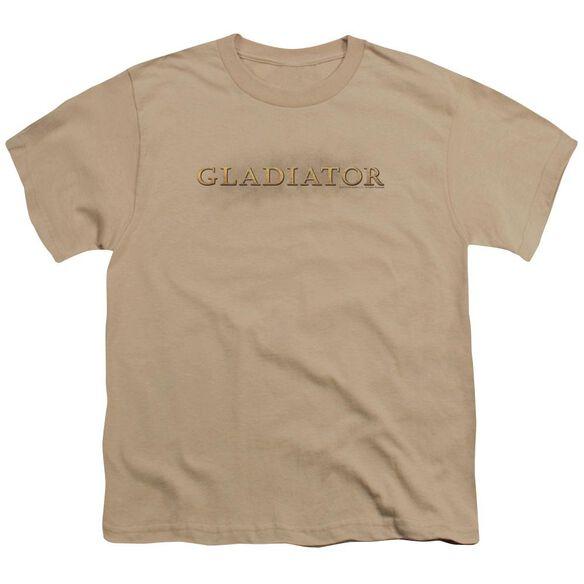 Gladiator Logo Short Sleeve Youth T-Shirt