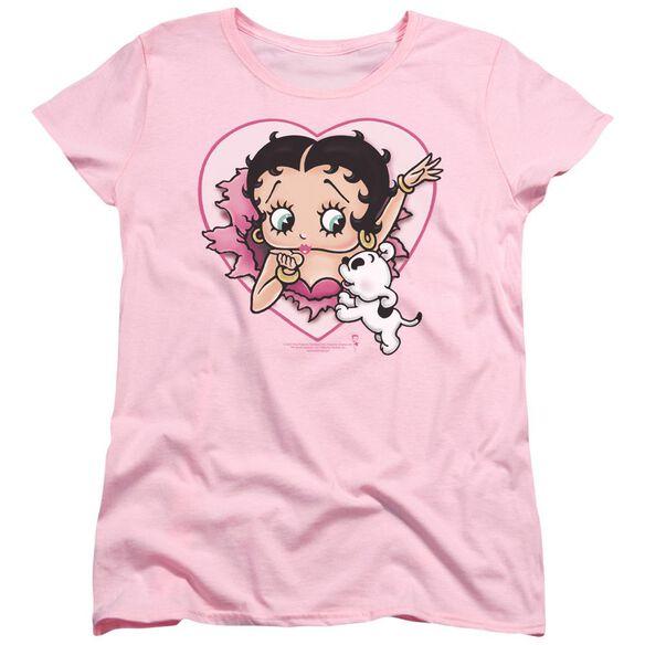 Betty Boop I Love Betty Short Sleeve Womens Tee T-Shirt